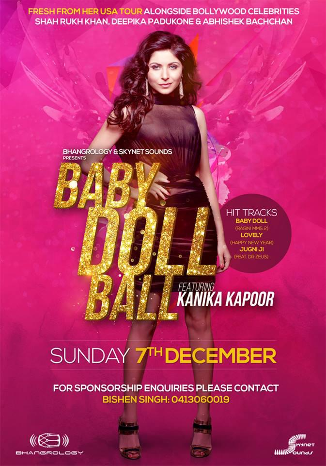 Kanika Kapoor Live in Perth on 7th December 2014