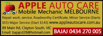 Apple Auto Care Clayton South Melbourne