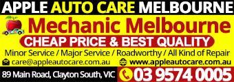 Apple Auto Care Clayton South Melbourne