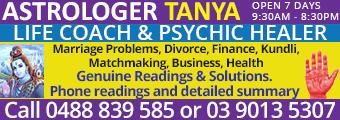 Astrologer Tanya