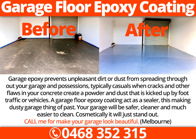 Garage Floor Epoxy Melbourne