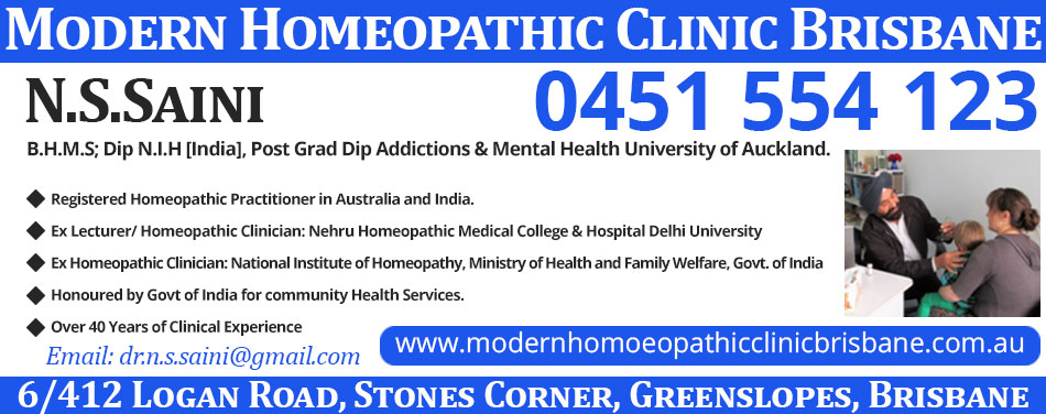 Modern Homeopathy Brisbane